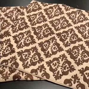 Pottery Barn Set of 2 Throw Pillow Covers